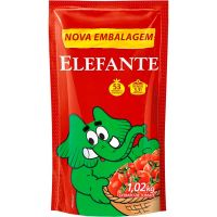 Extrato de Tomate Sachê Elefante 1,02Kg - Cod. 7896036097830
