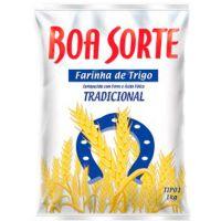 Farinha de Trigo Boa Sorte 1kg - Cod. 7891080000300C10