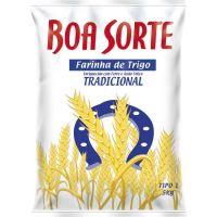 Farinha de Trigo Boa Sorte 5kg - Cod. 7891080000355