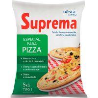 Farinha de Trigo para Pizza e Salgados Suprema Bunge 5kg - Cod. 7891080106019