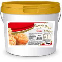 Farofa Doce Streusel Adimix 3kg - Cod. 7898228372091