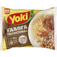 Farofa Pronta Mandioca Yoki 500g - Cod. 7891095300488