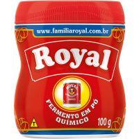 Fermento em Pó Químico Royal 100g - Cod. 7622300119621