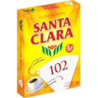 Filtro de Papel 102 Santa Clara 30 Unidades - Cod. 7896224835787