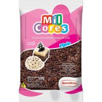 Flocos de Chocolate Mil Cores Pacote - Cod. 7896072642742