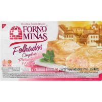 Folhado Presunto com Queijo Forno de Minas 240g - Cod. 7896074600559