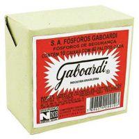 Fósforo Madeira Gaboardi 10 Caixas | Caixa com 20 Unidades - Cod. 7896279202008C20