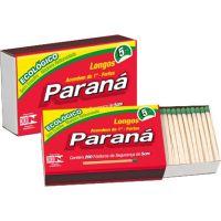 Fósforo Paraná Forno e Fogão 200 palitos | Pacote com 15un - Cod. 7896080921556