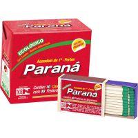 Fósforo Paraná Madeira | Pacote com 20x10un - Cod. 7896080902043
