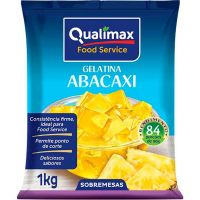 Gelatina Abacaxi Qualimax 1kg - Cod. 7891122113104