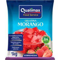 Gelatina Morango Qualimax 1kg - Cod. 7891122113227