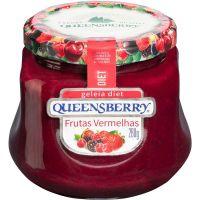 Geléia Diet Frutas Vermelhas Queensberry 280g - Cod. 7896214533075