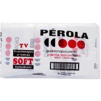 Guardanapo Folha Simples Pérola 14X14cm | Fardo com 4x500un - Cod. 7898928151163