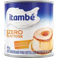 Leite Condensado Zero Lactose Itambé 395g - Cod. 7896051128168