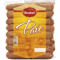 Linguiça Paio Saudali 2,5Kg   Caixa com 4 Unidades - Cod. 7898229385342C4