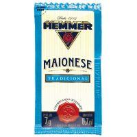 Maionese Hemmer Sachê 7g | Com 190 Unidades - Cod. 7891031412602
