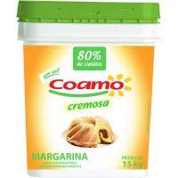 Margarina Coamo sem Sal 80% Balde - Cod. 7896279601054