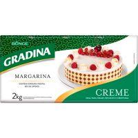 Margarina Especial Creme Gradina 2kg - Cod. 7891080109355