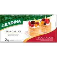 Margarina Especial Folhada Gradina 2kg - Cod. 7891080109379
