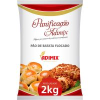 Mistura para Pão de Batata Flocado Adimix 2kg - Cod. 7898228370042