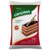 Mistura Para Pão de Ló Chocolate Gradina 5kg - Cod. 7891080150159