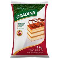 Mistura Para Pão de Ló Gradina 5kg - Cod. 7891080150166