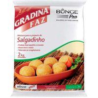 Mistura Para Salgadinho Gradina 2kg - Cod. 7891080109454