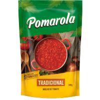 Molho de Tomate Pomarola Tradicional Sachê 340g - Cod. 7896036095904