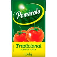 Molho de Tomate Tradicional Pomarola 1,06kg - Cod. 7896036096604