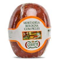 Mortadela Bologna com Picles Ceratti 100g - Cod. 7898907631181