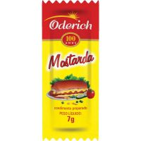 Mostarda Oderich 7g | Com 200 Unidades - Cod. 7896041172737