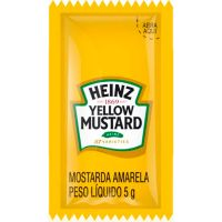 Mostarda Sachê Heinz 5g com 192 Unidades - Cod. 7896102517026