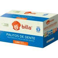 Palito Dental Bambu Billa 2000 Unidades - Cod. 7898643020096
