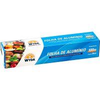 Papel Alumínio Wyda 30Cmx100Mt - Cod. 7898930672458