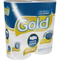 Papel Higiênico Folha Dupla Gold 4 rolos - Cod. 7896339810655C16