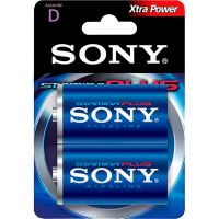 Pilha Alcalina Stamina Plus Grande D Sony 2 Unidades - Cod. 1008562006253C6