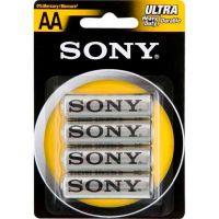 Pilha Zinco Carbono Ultra Heavy Duty Pequena AA Sony 4 Unidades - Cod. 10008562000794C6