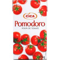 Polpa de Tomate Pomodoro 1,05Kg | Caixa com 12 Unidades - Cod. 7896036096642C12