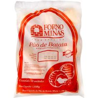 Pão de Batata Calabresa com Requeijão Forno de Minas 105g com 10 Unidades - Cod. 7896074601013