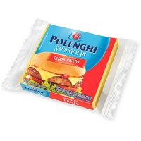 Queijo Prato Fatiado Sandwich Polenghi 144g - Cod. 7891143001077