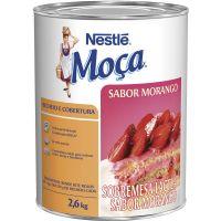 Recheio e Cobertura Morango Nestlé 2,6kg - Cod. 7891000095348