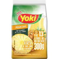 Refresco em Pó Yoki Chef Line Abacaxi faz 13L 300g - Cod. 7891095020669