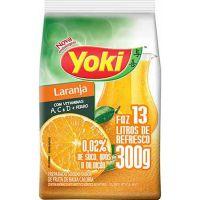 Refresco em Pó Yoki Chef Line Laranja faz 13L 300g - Cod. 7891095020614