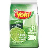 Refresco em Pó Yoki Chef Line Limão faz 13L 300g - Cod. 7891095020676