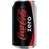 Refrigerante Coca-Cola Zero 350ml | Caixa com 12 Unidades - Cod. 7894900700015C12