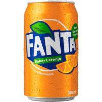 Refrigerante Fanta Laranja 350ml | Caixa com 12un - Cod. 7894900030013C12