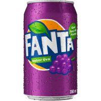 Refrigerante Fanta Uva 350ml | Caixa com 12un - Cod. 7894900050011C12
