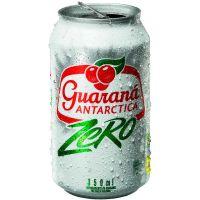 Refrigerante Guaraná Antarctica Zero 350ml | Caixa com 12un - Cod. 7891991000727C12