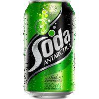 Refrigerante Soda Limonada Antartica 350ml | Caixa com 12un - Cod. 7891991000833C12