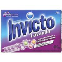 Sabão em Pó Lavanda Invicto 500g | Caixa com 24 Unidades - Cod. 7898031172949C24
